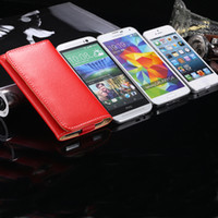 Wholesale Multifunctional Galaxy S3 Case - Wholesale-General Multifunctional Wallet Pouch Mini Handbag For Samsung Galaxy S3 S4 S5 S 4 mini Lychee Grain Leather Card holder Case