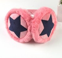 Wholesale-2015 Damen Ohrenwärmer Polarfleece Pelz Mädchen Warmer Plüsch New Star Stirnbänder Winter-Lovers Ohrenschützer