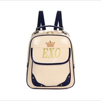 Wholesale Exo Bags - Wholesale-2015 New FemaleShoulder Bag Schoolbag EXO Students Travel Bag Small BackpackS Women Backpack Girls Backpack