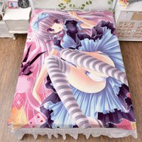 Wholesale Sheet Anime - Wholesale-Anime Cartoon Tinkle 2 Way . WT Fitted Bed Sheet Christmas Gift 150*200cm No.009