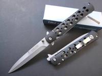 die heißesten faltmesser großhandel-heißer Verkauf COLD STEEL 26S faltendes Taschen-Messer-kampierendes Überlebens-Messer freies Verschiffen 1pcs