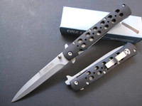 Wholesale knife sales for sale - Group buy hot sale COLD STEEL S Folding Pocket Knife Camping Survival Knife