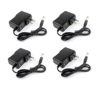 UK 12v plug 5v converter - 100PCS AC 100V-240V Converter Adapter DC 12V 1A 9V 1A 5V 2A Power Supply EU US UK Plug +IC protection