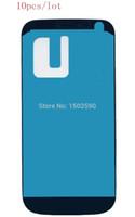 ingrosso i9195 schermo di tocco dello schermo dell'affissione a cristalli liquidi-All'ingrosso-10pcs / lotto Display LCD frontale Touch Screen Digitizer Telaio adesivo adesivo parti per Samsung Galaxy S4 mini i9190 i9195