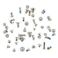 Wholesale original iphone screws - Original Screw Set Whole Sets for iPhone 4 4s 5 5s 5c 6 Plus 6s Plus free DHL