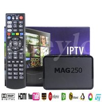 IPTV Set Top Box Mag250 Sistema operativo di Linux senza includere Iptv account Mag 250 Iptv Decoder
