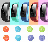 Wholesale Cheap Heart Rate Monitors - new cheap ID107 Plus HR Smart Band Bluetooth 4.0 Answer Call Smart Bracelet Heart Rate Sleep Monitor multi sports 5 displays