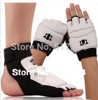 Wholesale Taekwondo Gloves Free Shipping - Wholesale-New 2015 Hot Sell Professional Ventilate Taekwondo Muay Thai Gloves Wushu Gloves Taekwondo Protective Gear Free Shipping