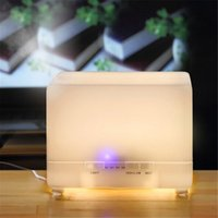 Ultrasonic Humidifier Tabletop / Portable Humidistat High Quality Mist Maker 700ml 7 Colors Changable LED Light Essential Oil Diffuser Aroma Diffuser Ultrasonic Air Humidifier
