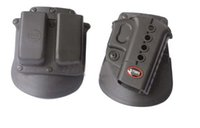 Wholesale Glock 19 Magazine - tactical FOBUS Evolution RH GL 2 GL2-ND Paddle Double Mag Pouch Pistol Holster+6900 Double Magazine Concealed for Glock 17 19 22 23 31 32 34