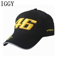 2017 Nuovo Design 46 Racing Cap Car Motocycle Racing MOTO GP VR 46 Rossi Ricamo Hiphop Cotton Trucker Cappello Berretto da baseball