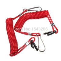 Wholesale Kill Tether - 2x Boat Outboard Engine Motor Lanyard Kill Stop Switch Safety Tether For Yamaha small order no tracking