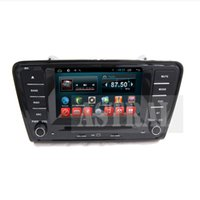 Wholesale Dvd Screen Skoda Octavia - Quad Core 2 Din Car Dvd in Car Radio Players for Skoda Octavia A7 with Android System GPS Bluetooth TV CD Mp3 Mp4 iPod