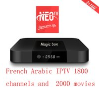 IPTV BOX Neo pro magic 1800 canales 2000 películas MAG250 VLC M3U Smart tv Enigma2 box xiaomi MI