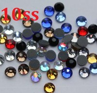 Wholesale Sew Glass - 1440pcs 10SS 3mm Assorted Hot Fix Glass Rhinestones For Sewing