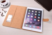 Wholesale Ipad Covers Stands Best - luxury Folio Leather with Stand Leather Case for iPad Air Air2 ipad mini New Smart Cover Best Microfibre Protection Inside DHL free 10 pcs