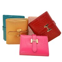 Wholesale Dollar Notes - Short Brief Women Genuine Leather Dollar price Wallet Classic Brand Female Carteira Feminina Purse Wallet Women Coin Bag