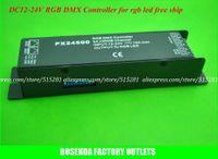 Wholesale 24v High Power Led - Wholesale-High power DC 12V 24V LED Decode RGB DMX Cotroller PX24500 for rgb led ,can drive many kinds of led lamps,free ship
