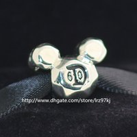 Wholesale celebration glass for sale - Group buy New Sterling Silver th Celebration Charm Bead Fits European Style Jewelry Bracelets Necklaces Pendants