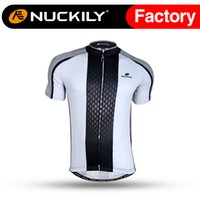 Wholesale Uv Sleeves Designs - Nuckily Quik dry cycling jersey carbon design ss bicycle shirt Men's anti UV short sleeve bike clothing NJ504
