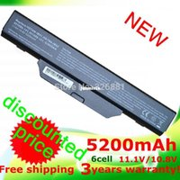 Wholesale Hp 6735s Battery - Powerful 5200mAh battery for COMPAQ 510 511 610 615 for Hp 550 Business Notebook 6720s 6730s 6735s 6820s 6830s HSTNN-IB51 HSTNN-IB62