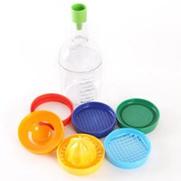 Wholesale-8 in 1 Küche Gadget Tools 8 Snazzy in 1 bunte Stapel oder Ei-Cracker Shredding-Öffner-Ei-Separator Messbecher Kochen