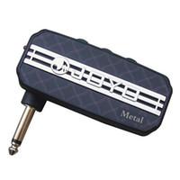 Wholesale Amplifier Guitars - Joyo JA-03 Pocket Amp Amplifier for Electric or Acoustic Guitar with Vintage Appeal-Metal Tone