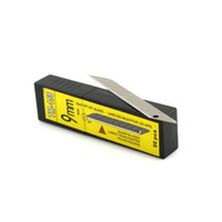 Wholesale Wholesale Snap Blade Utility Knife - Carbon Steel Snap-off Utility Sharp Knife Replacement Blade 9mm 50-Blades box 5boxes per pack whole sale