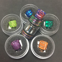 Wholesale Drip Tips Ego Series - NEW wide bore 510 snake skin drip tip for TFV8 Baby Vape Pen 22 Ego Aio series Istick Pico series Melo series..etcati