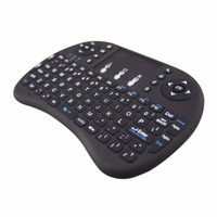 Wholesale Notebook Layouts - English layout Rii mini i8 Keyboard Air Mouse Multi-Media Remote Control Touchpad Handheld for Android TV BOX Notebook Mini PC