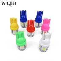 Wholesale Map Park - WLJH T10 168 W5W 5 SMD 5050 LED Car Light Lamp Vehicle Auto Interior Dome Map Lights Bulbs White Red Blue Yellow Pink