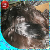 Wholesale Low Priced Brazilian Hair Bundles - 7A lower price unprocessed Straight Brazilian Human Hair bundles 80g piece 6pcs lot(480grams) Hot selling fast shipping