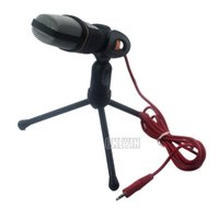 Computerinstrument Kaufen -Fashion Mini-Kondensator-Mikrofon Mic Recording Vocals Acoustic Instruments KTV 3,5 mm Stativ für Laptop Computer 0,25-CNH17H Auftrag $ 15 keine