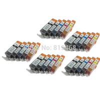 Wholesale Pixma Ink Cartridges - 25 Ink Cartridge for PGI-220 CLI-221 Pixma MP640 MX860 MX870 MP980 MP990 free shipping