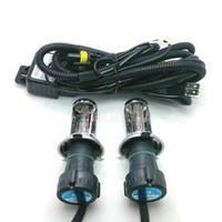 Wholesale Hi Hid Light Bulb - 35W AC Best 35W Car Xenon HID H4 Hi Lo 4300K-12000k Beam Bulb foglight headlights fog light xenon light 9007 9004 9003 Hi Lo beam
