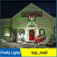 Wholesale Laser Dot Projector - Xmas Decor Lights Firefly Lights Waterproof Outdoor Laser Lights Landscape Red Green Laser Dot Projector for Lawn and Garden Home New 002938