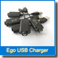 Wholesale Best Ego C Twist - USB Charger for eGo Shisha Hookah Pens with 510 Thread BEST USB Charger Cable for eGo T eGo C Twist EVOD VV Battery