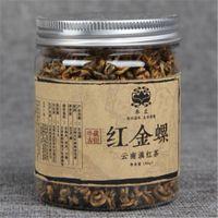 Featured Yunnan Fengqing Dianhong tea gold screw Biluochun bud Black tea red pimple tea 65g Green food