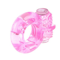 Wholesale Cock Clit - Newest Vibrating Waterproof Vibrator Cock Ring with Clitoral Stimulator Delay Rings Penis and Clit Adult Sex Toy Product A-east
