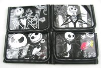Wholesale Party Favor Purses - Wholesale - New Lot 12 pcs Nightmare Before Christmas cartoon children Girl's wallet purses gift bags party favor