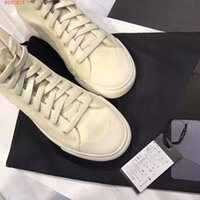 Wholesale White Box 43 - With Box 2017 New Arrival Lovers Sport Shoes Lovers Casual Shoes Canvas Breathable Real Genuine Leather Running Shoes Size 35-43