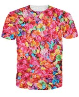 Vêtements de tueurs Prix-Eté Style w1223 Cereal Killers Fruity Pebbles T-shirt coloré Sexy femmes t-shirt Habillement Mode Casual O-Neck Men Tee Plus Size