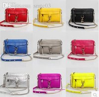 Wholesale Bag Motocycle - Wholesale-New fashion clutch MINI motocycle tasses rebecca girls style chain shoulder faux leather bag