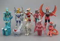 Wholesale Saint Seiya Japan Action Figures - Saint Seiya 10 Designs Japan 2015 New Action Figure Anime Cartoon Baby Kids Toys for Children Doll Christmas Gift Collectible 10pcs lot