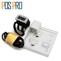 scanner de código de barras bluetooth portátil venda por atacado-Atacado- a laser IPBS043 Weirless mini-Bluetooth barcode Portable Reader códigos Anel Barcode Scanner 1D / 2D / QR / PDF417 Leitor