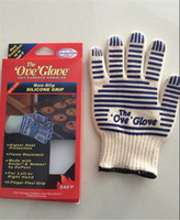 Wholesale hot sale top qulity Retail Packaging oven glove ove glove As hotsurface handler Home golves handler Oven D541