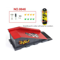 Others Others 2 -4Years Wholesale-Hot Creative Skate Park Ramp Parts for Fingerboard Finger Board Ultimate Parks,ABS Plastic Fingerboard Site Kid's Toy