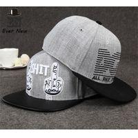 Wholesale Snap Backs Retail - Wholesale-Fashion Brand Alphabet Snapback Hat Snap Back Cap Hip Hop Cap Casual Snapback Cap Flat-brimmed Hat Wholesale Retail