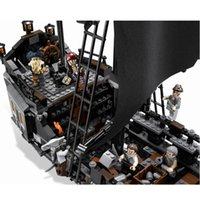 Wholesale Pirates Black Pearl Ship - Lepin The Black Pearl Ship 804Pcs Bricks Set Pirates of the Caribbean Building Blocks Toys For Children Compatible with Lepins