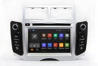 Wholesale Toyota Car Stereo Gps - Android 7.1 Car DVD Player GPS Navigation for Toyota Yaris 2005 2006 2007 2008 2009 2010 2011 with Radio BT USB AUX